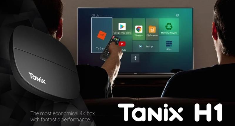 New Tanix H1 TV box with HiSilicon Hi3798M V200 processor