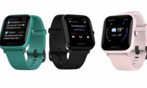 """Amazfit Bip U Pro Smartwatch With Built In Alexa"""
