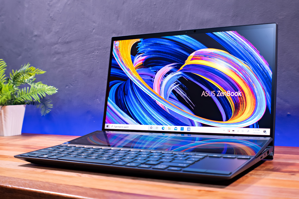 Technological victory: ASUS ZenBook Duo 14 (UX482)