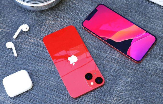 iPhone 13 mini concept has a dual diagonal camera