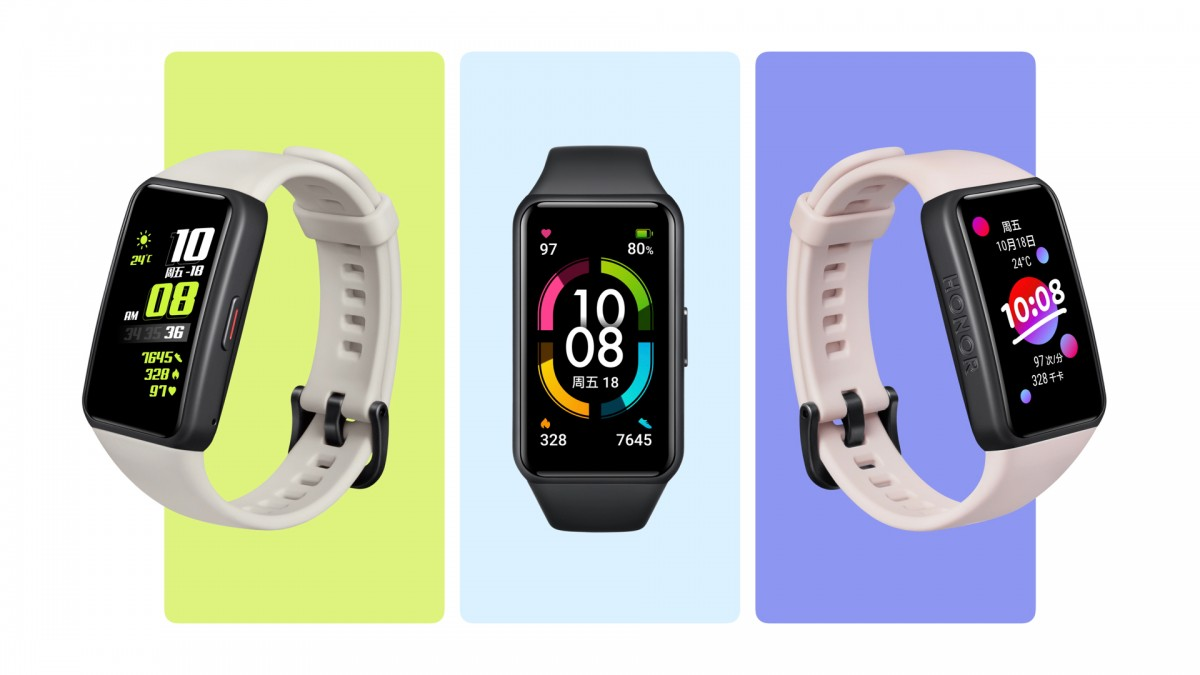 The Smart Bracelet HONOR Band 6 presented in Russia