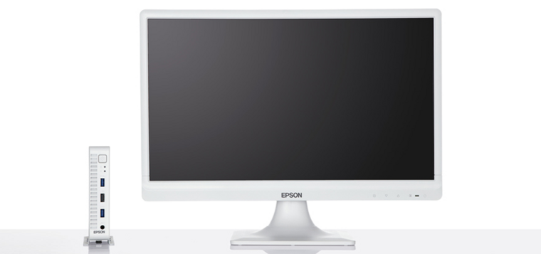 The Epson Introduces Endeavor ST50 Compact Computer for Rear-Mount Monitor