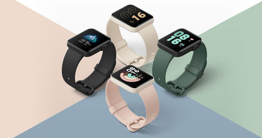 Smartwatches Xiaomi Mi Watch Lite with GPS, water protection and autonomy up to 9 days can now be bought on AliExpress for $ 50