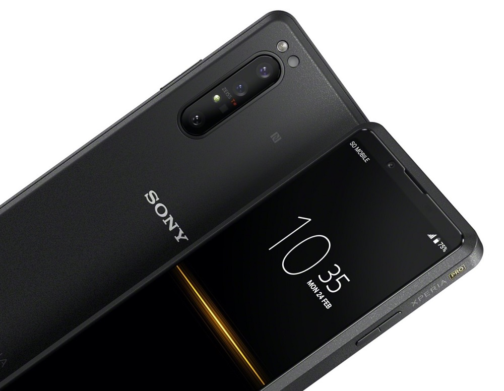Xperia Pro flagship smartphones were released by Sony